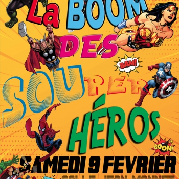 La boum des super héros