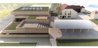 Esquisse Centre Culturel Jean Monnet