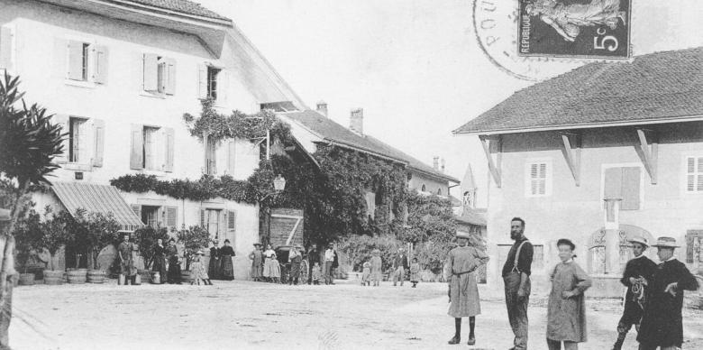 Saint Genis et l'ancienne place de la Fontaine-2