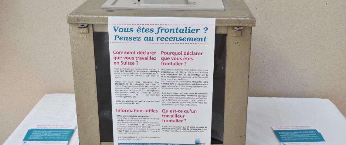 Frontaliers, recensez-vous !