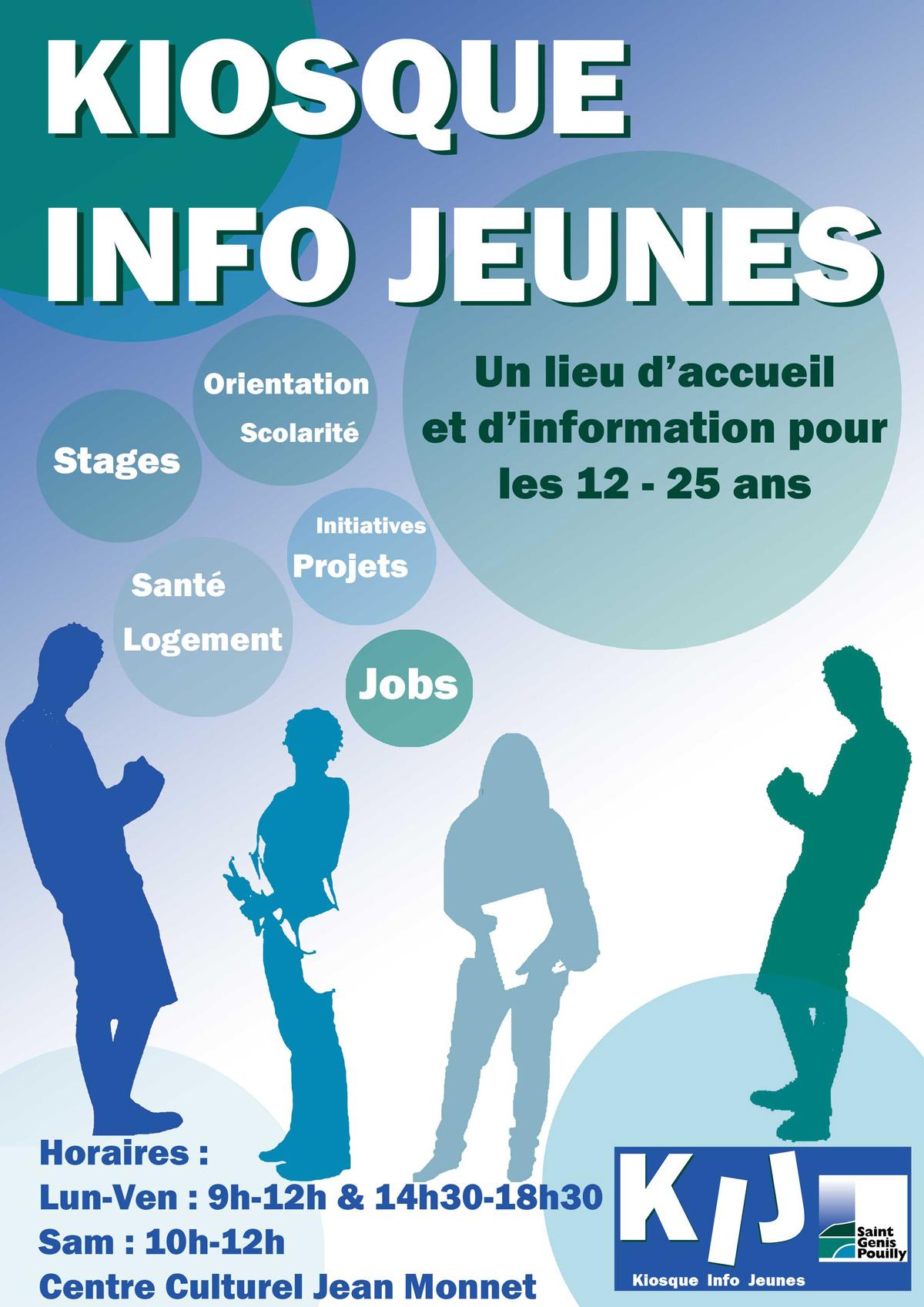 Affiche Kiosque Info Jeunesse