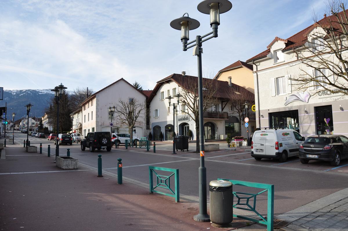 Centre ville de saint genis pouilly