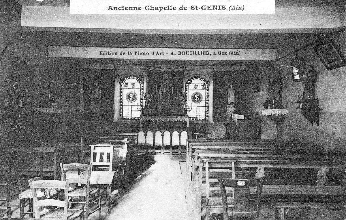 Intérieur de l'ancienne Chapelle