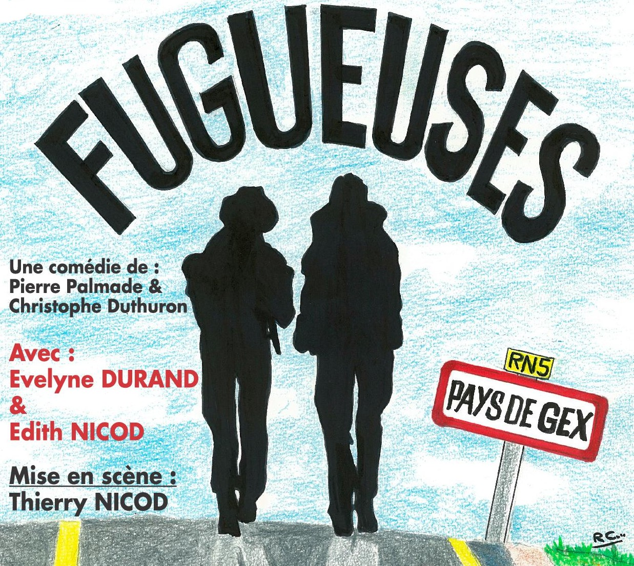 Fugueuses - Le Quart d'Heure Gessien