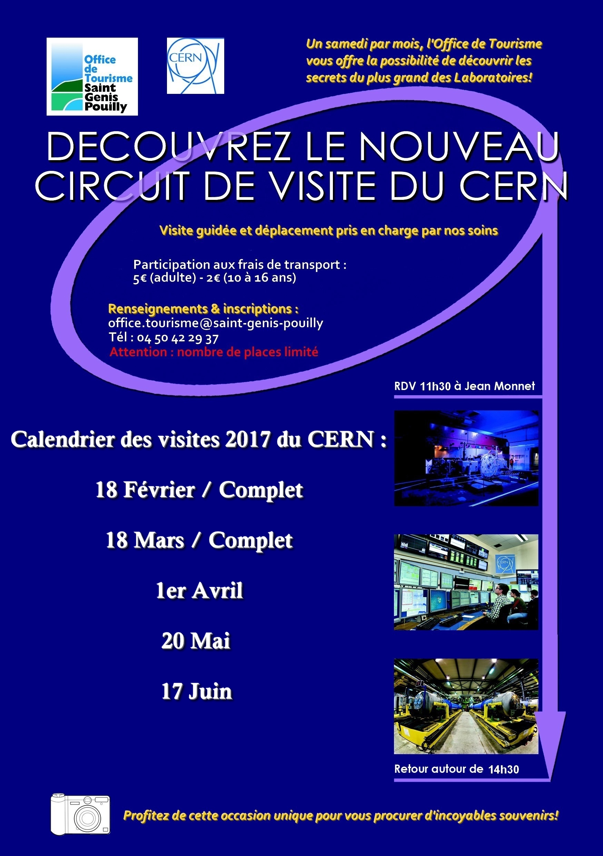 Visites du CERN 2017